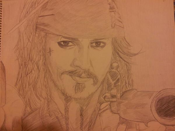 Johnny Depp by Uribaba